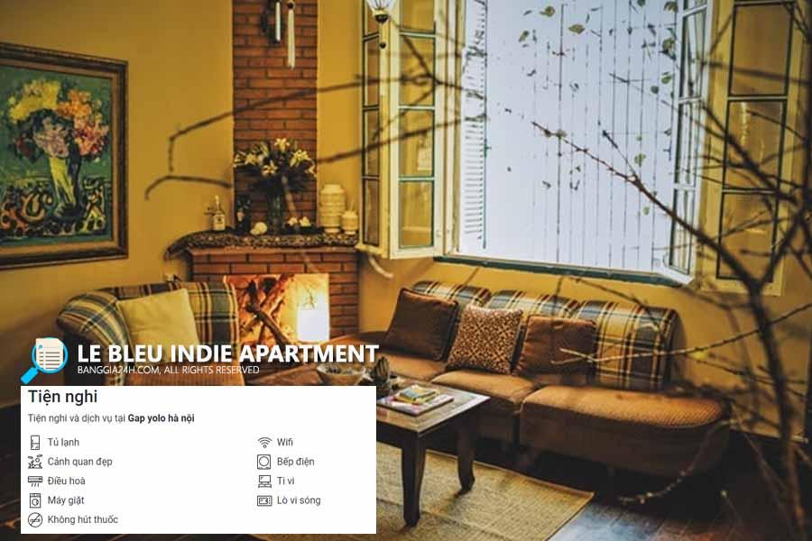 Le Bleu Indie Apartment Homestay Hoàn Kiếm giá rẻ