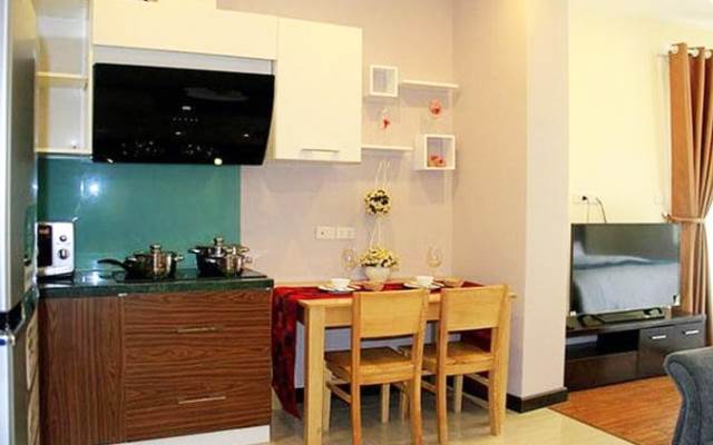 An Chi Apartment Homestay view Hồ Tây