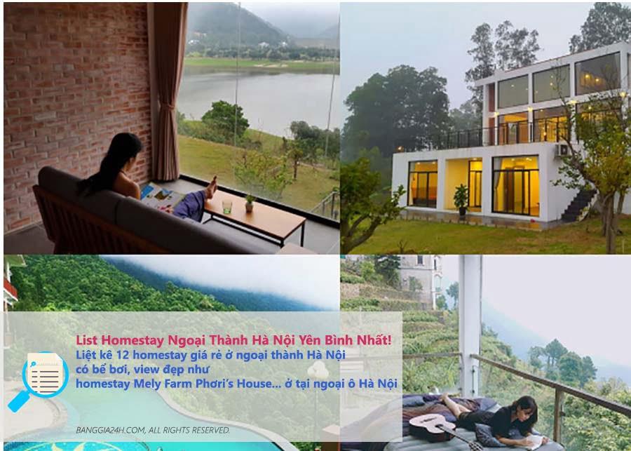 Homestay Ngoại Thành Hà Nội