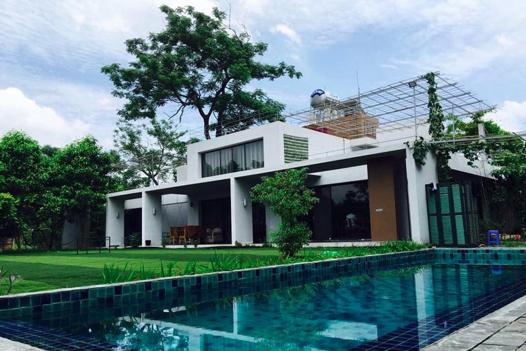 Phơri's House Mê Linh - Homestay Ngoại Thành Hà Nội Có Bể Bơi