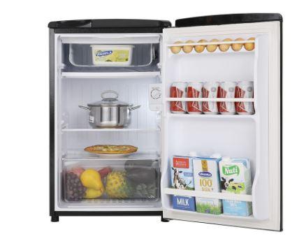 Aqua AQR-D99FA-BS (90L) - Tủ lạnh mini giá rẻ
