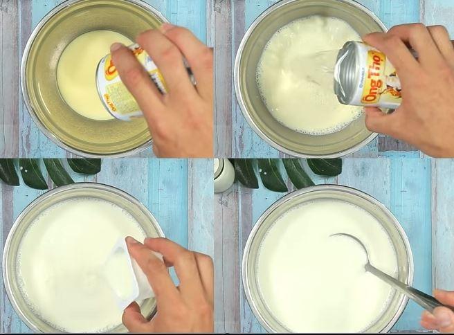 hướng dẫn cách làm kem chuối