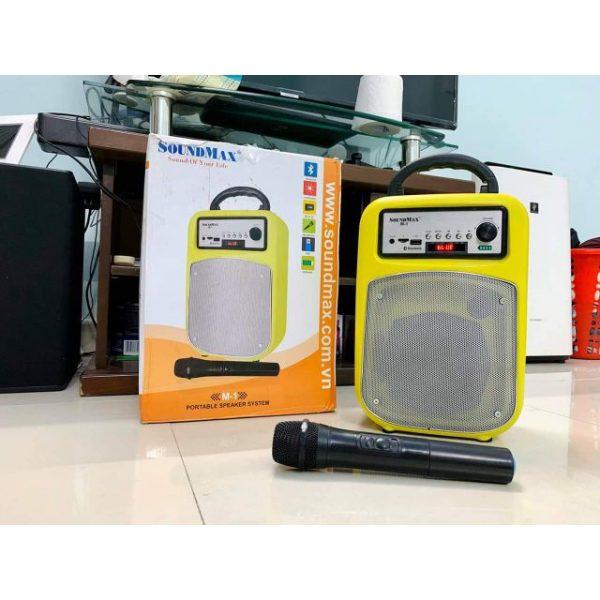Loa vaki kéo mini giá rẻ- SoundMax M1