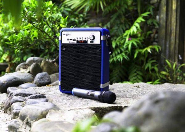 Soundmax M2- Loa vali kéo mini