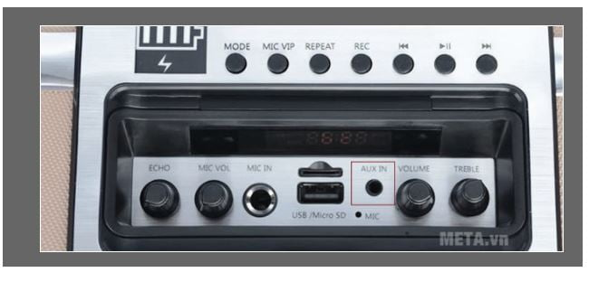 cách kết nối loa với tivi samsung bằng aux