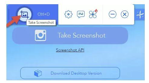 chụp màn hình máy tính với phần mềm