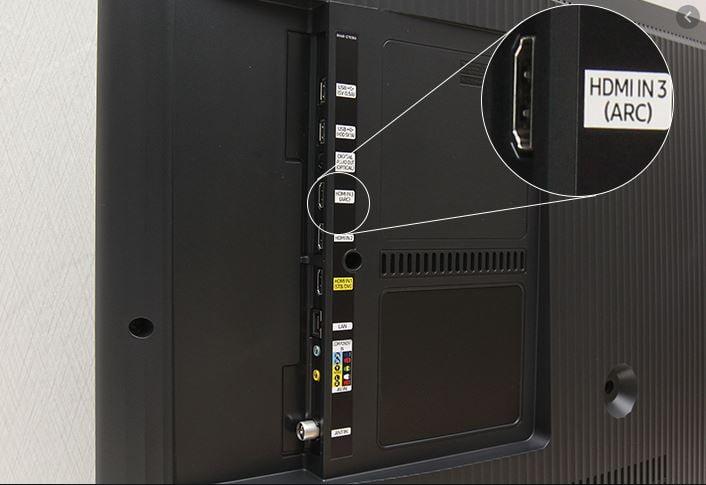 kết nối loa với tivi bằng cổng hdmi arc