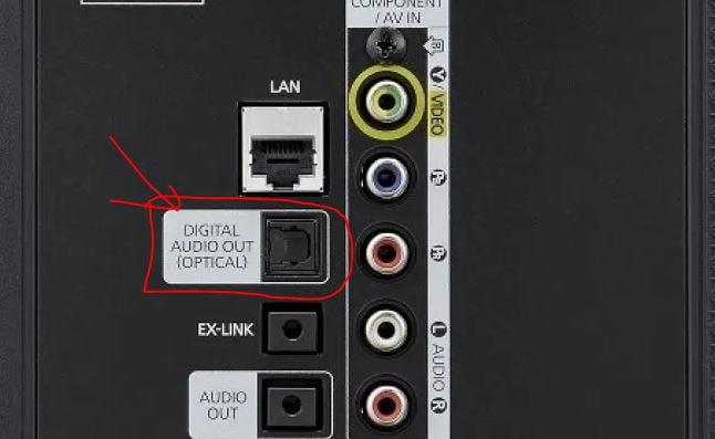 kết nối tivi samsung với loa ngoài bằng optical