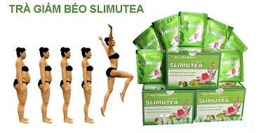 Trà giảm béo Lá sen Slimutea - Học Viện Quân Y
