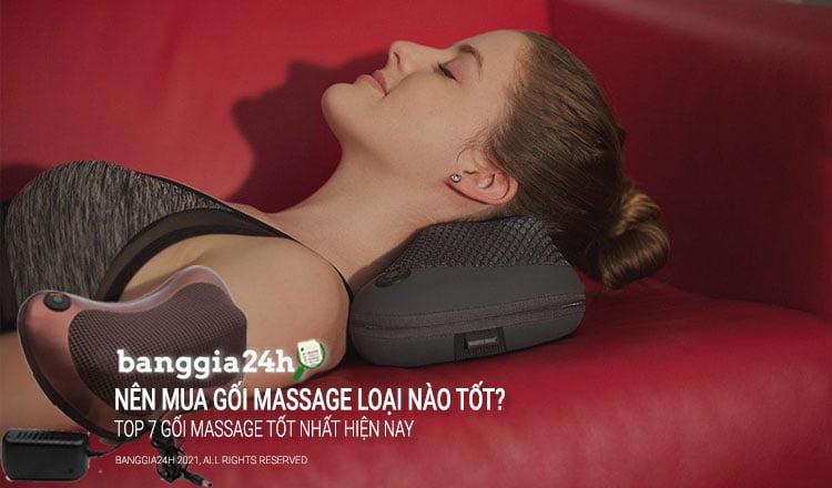 gối massage nào tốt