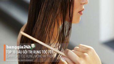 dầu gội trị rụng tóc tốt