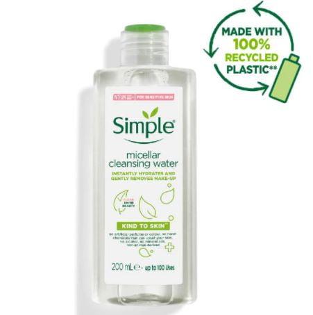 Nước tẩy trang Simple Micellar Cleansing Water